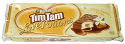Tim tams sticky vanilla toffee