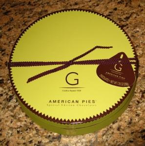 Godiva Christmas Chocolate box
