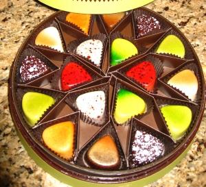 Godiva American pie chocolates