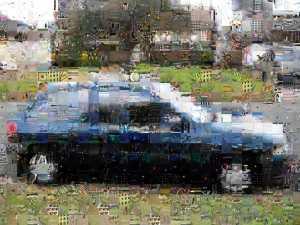 Car mosaic 2