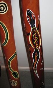 Didgeridoo art