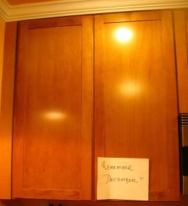 Goodie cupboard