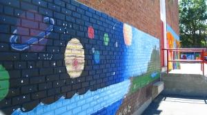 Powell mural