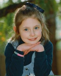Sophie Wright Dec 1993 Eastwood Pre-school