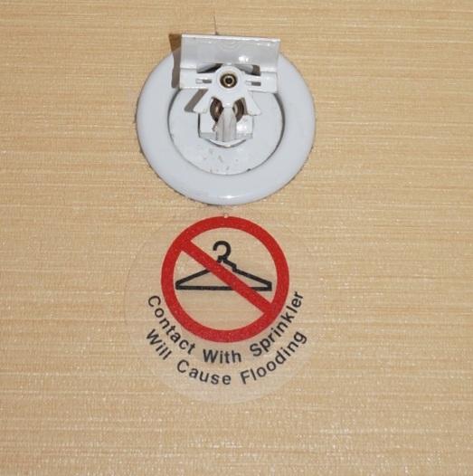 hotel sprinkler