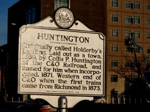 Huntington sign