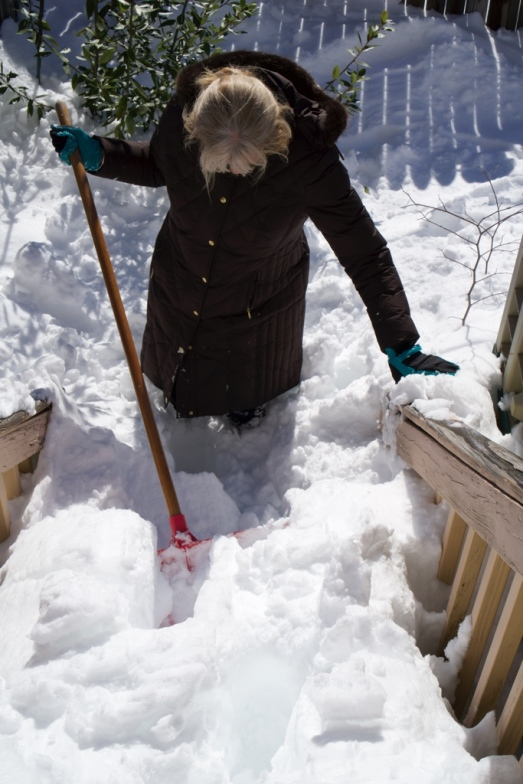 clearing the steps - where to start